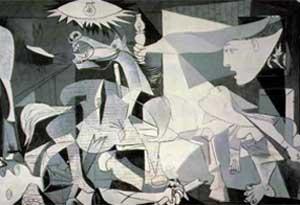 گرنیکا اثر معروف پیکاسو