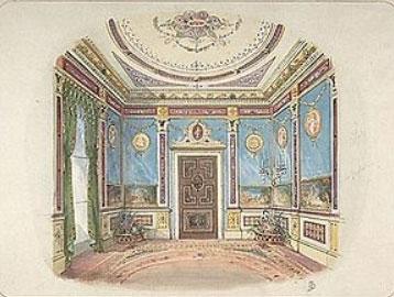 یک نمونه طراحی داخلی سال 1899