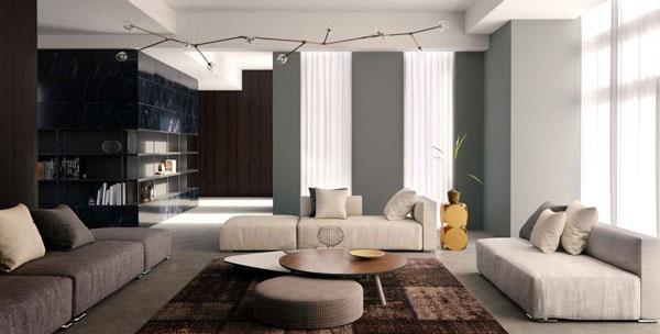 یک نمونه رندر از یک فضای داخلی جهت ارائه به مشتری