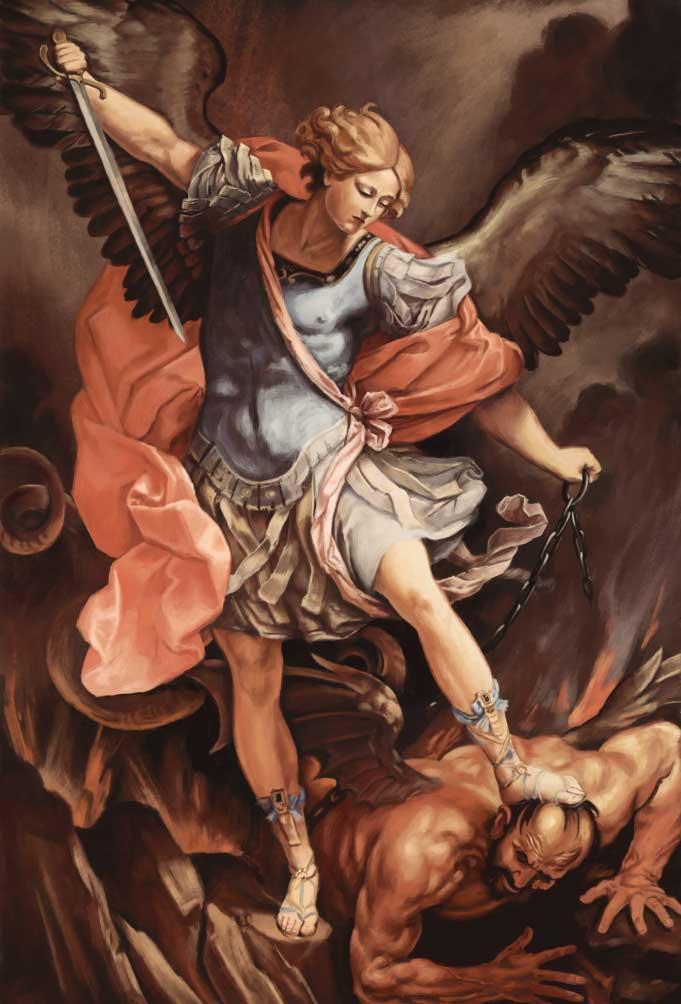 نقاشی اگیدو رنی نقاش ایتالیایی سبک باروک