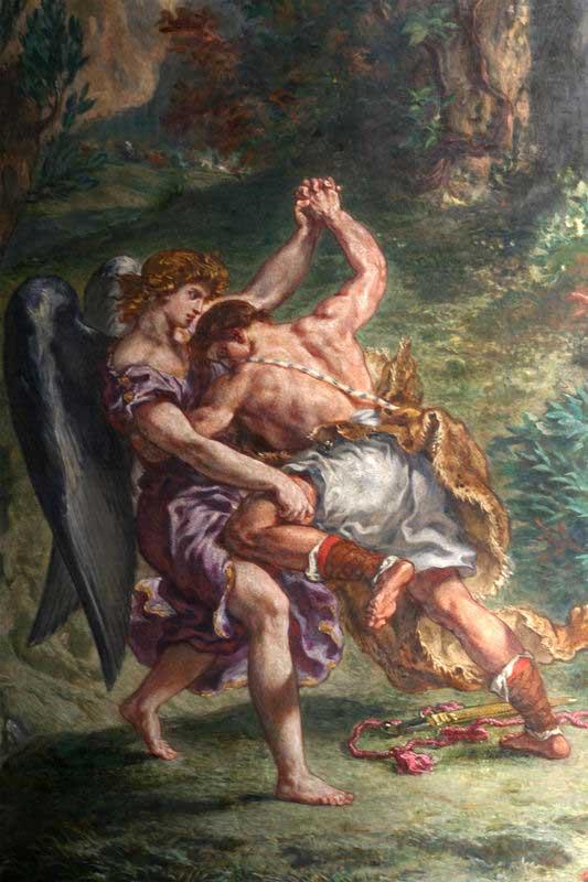 نبرد یعقوب با فرشته