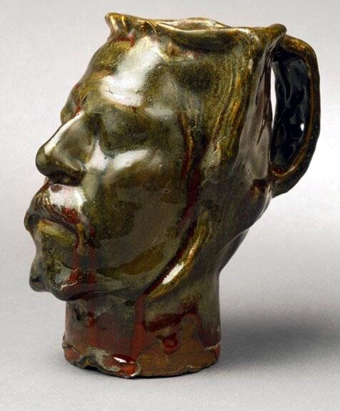 مجسمه سلف پرتره جام اثر گوگن