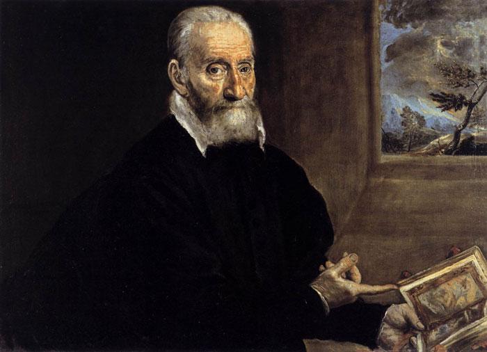 پرتره جورجیو جولیو کلویو اثر گرکو