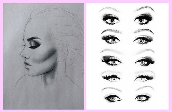 آرایش چشم و طراحی