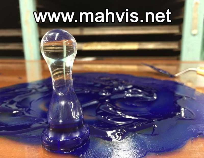 روش ترکیب رنگدانه و ماده حاصله