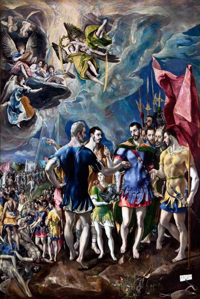 ال گرکو، شهادت سنت موریس