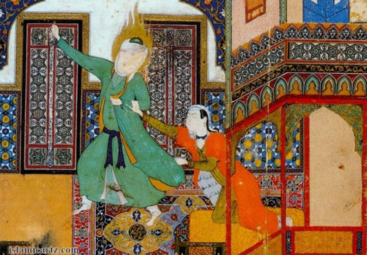 یک اثر از کمال الدین بهزاد