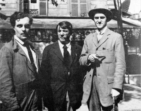 مودیلیانی، پیکاسو و آندره سالمون