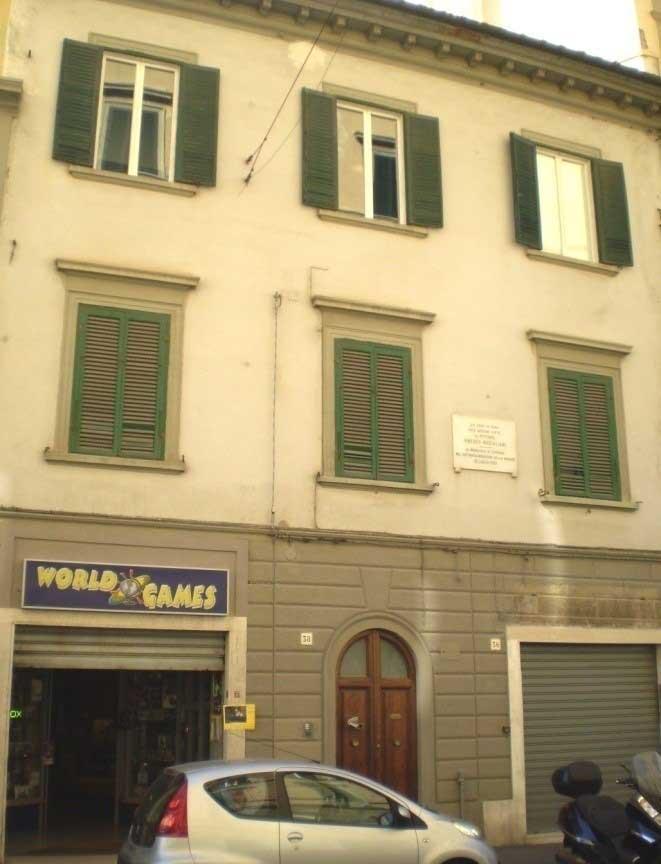 محل تولد مودیلیانی در لیورنو