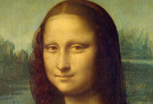مونالیزا ، لبخند ژکوند