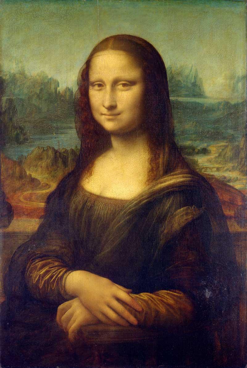 تابلوی مونالیزا (لبخند ژکوند) داوینچی