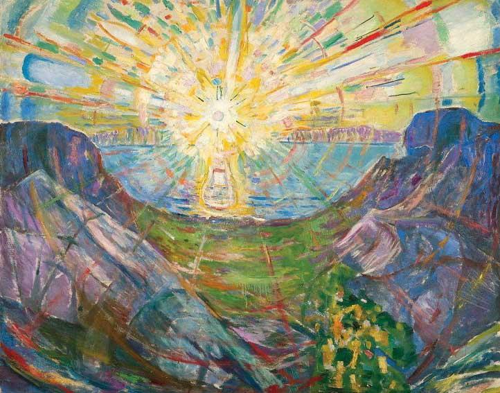 ادوارد مونک آفتاب 1910