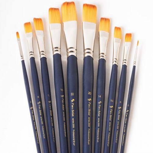 انواع قلم مو: قلم موهای نرم
