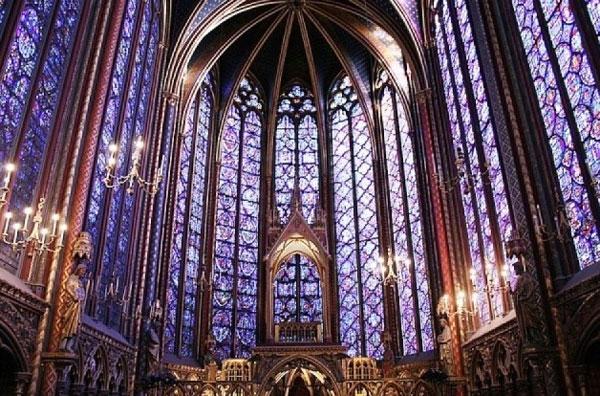 کلیسای سنت کاپل پاریس 1242 تا 1248