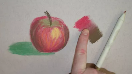 ترکیب رنگها در پاستل