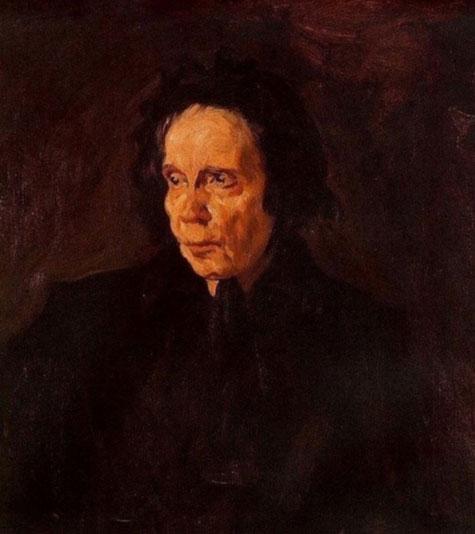 پرتره عمه پپا -پیکاسو - سال 1896