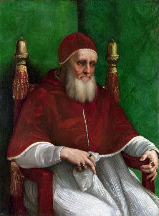 پاپ ژولیوس دوم اثر رافائل
