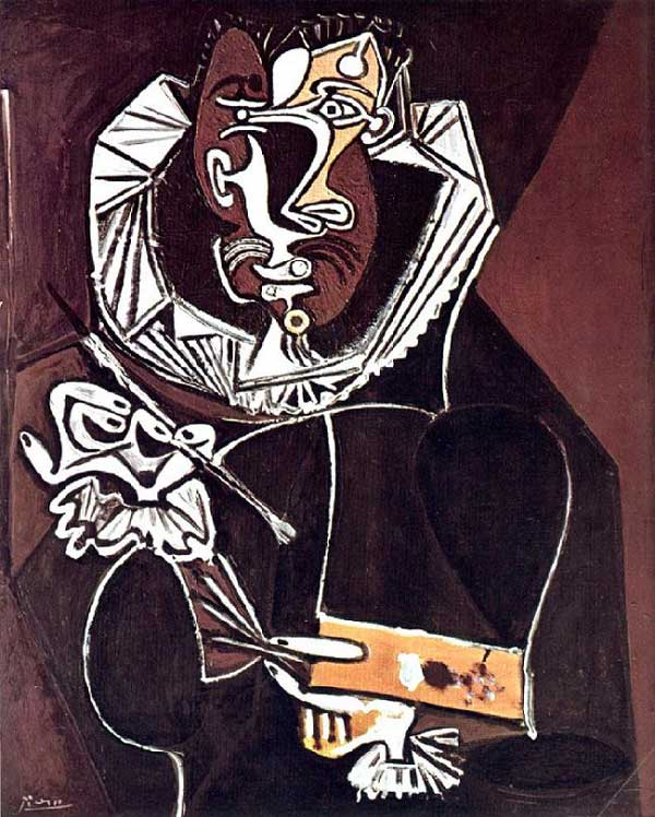 پرتره نقاش اثر پیکاسو