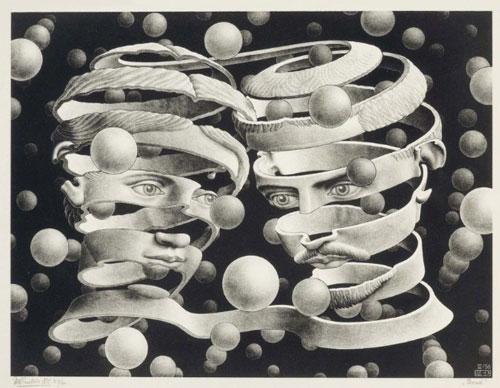 چاپ سنگی اثر موریس اشر