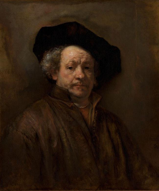 نقاشی رامبراند، سلف پرتره