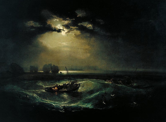 یک نقاشی از کانسپت sublimis اثر ویلیام ترنر