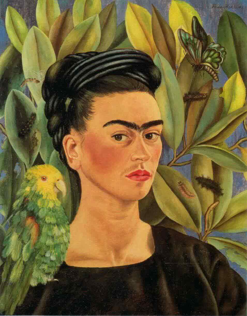 سلف پرتره فریدا کالو 1941