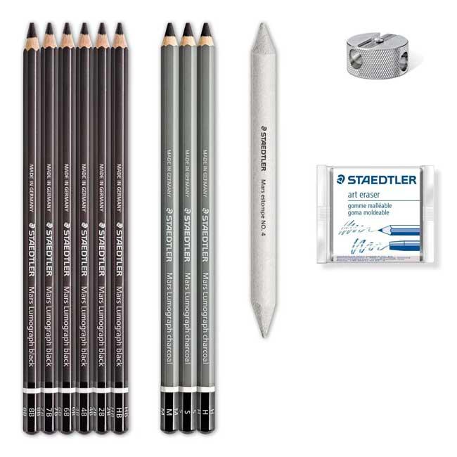 مدادهای کربنی مارک استدلر