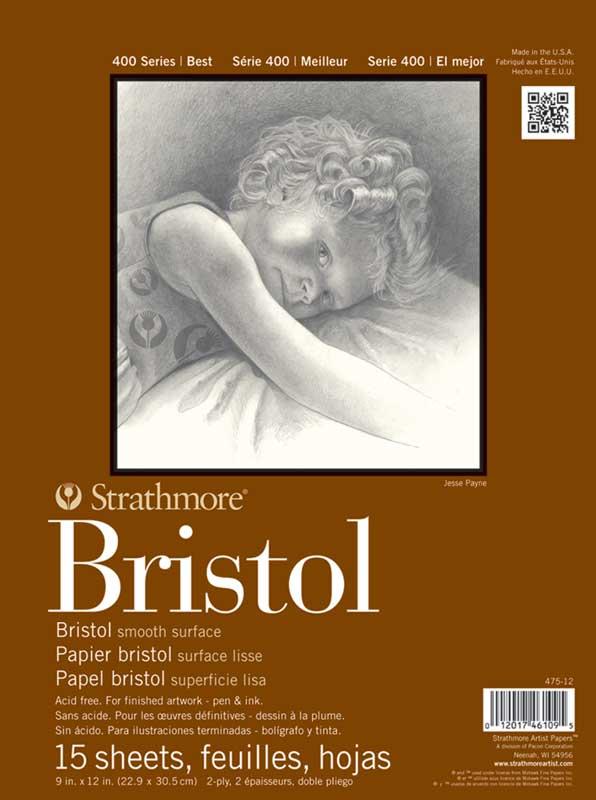 جلد دفترچه های بریستول استرس مور سری 400، دو لایه