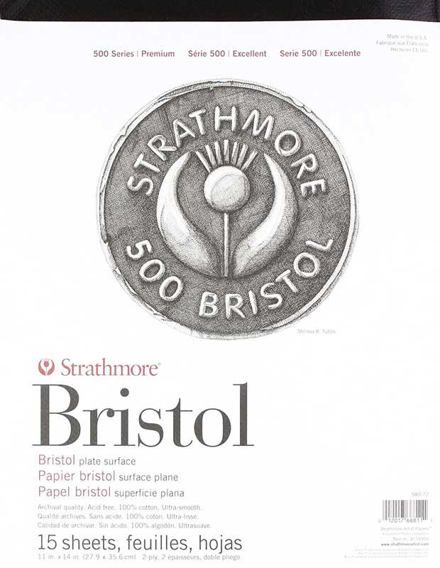 جلد دفترچه های بریستول استرس مور سری 500