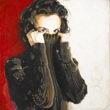یک نقاشی تمپرای موم اثر جف اسکالر