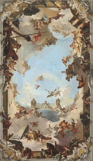 یکی از آثار جووانی باتیستا تیهپولو