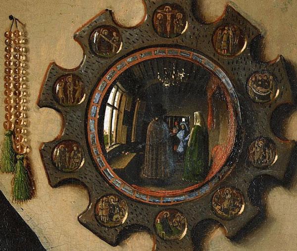 قسمتی از یکی از آثار وندایک