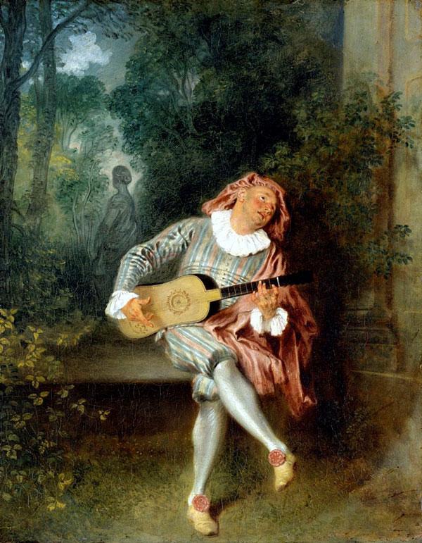 یک اثر از ژان-آنتوان واتئو به سبک روکوکو