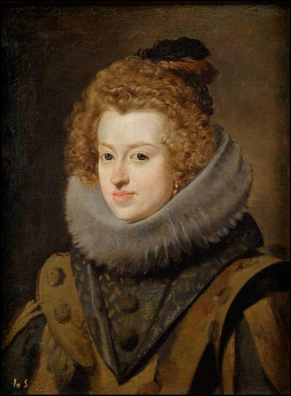 پرتره ماریا آنا اسپانیا