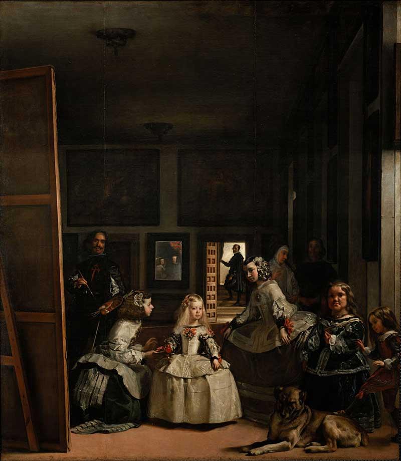 ندیمهها یا لاس منیناس یکی از مشهور ترین آثار ولاسکز