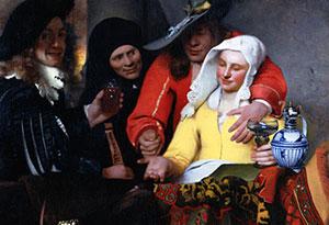 یوهانس ورمیر و نقاشی هایش