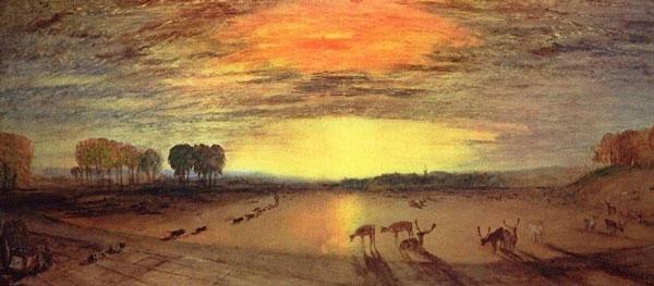 نقاشی منظره غربی اثر ویلیام ترنر