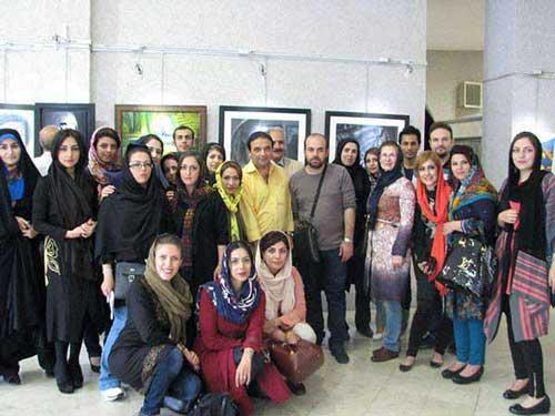 نمایشگاه نقاشی شاگردان آموزشگاه