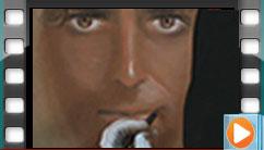 طراحی چهره، اجرا توسط هنرجوی دوره طراحی پیشرفته
