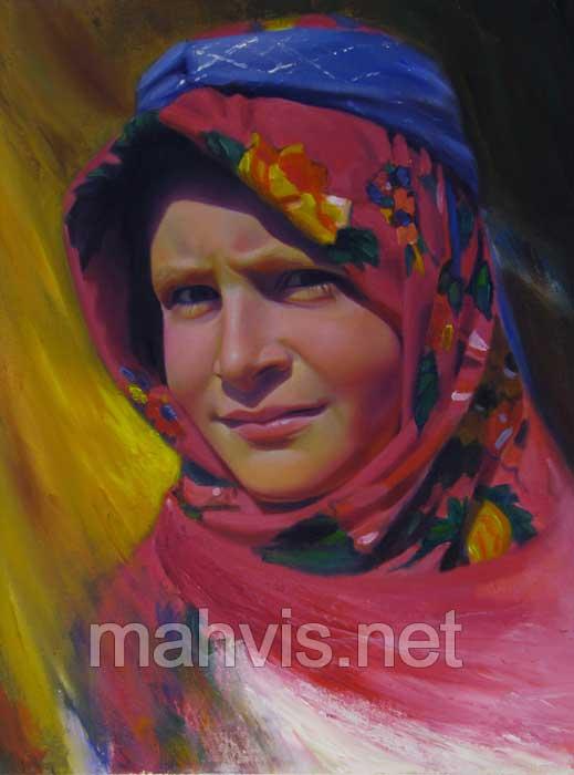 نقاشی های حسین اکبری رنگ و روغن اعجاب هنر نقاشی با رنگ و روغن  گشت