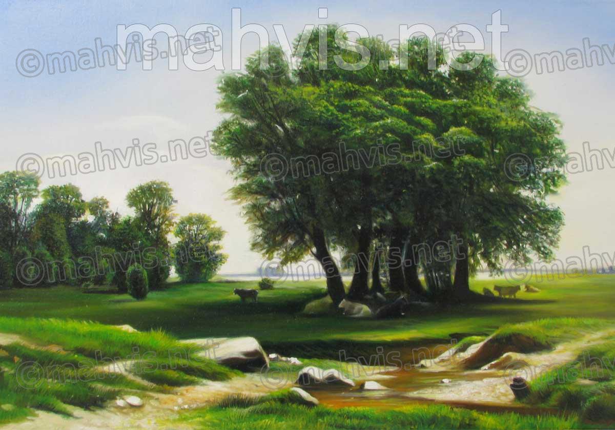 نقاشی منظره