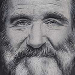آموزش نقاشی مداد رنگی چهره
