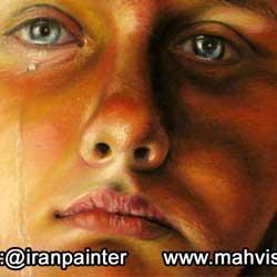 نقاشی پاستل