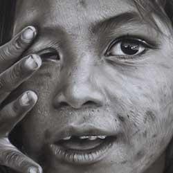 کشیدن چهره کودک