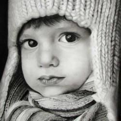 طراحی چهره بچه
